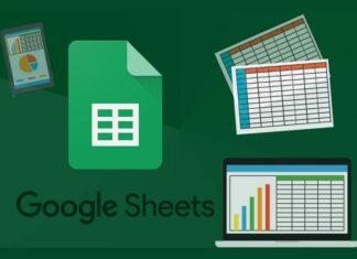 planilhas google sheets
