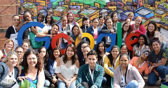 mulheres no Google